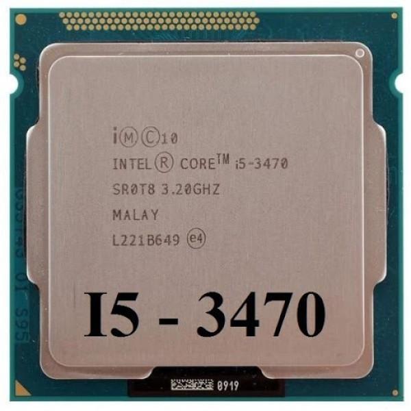 Bảng giá CPU Intel Core i5 3470 Socket 1155  - Bảo hành 03 Tháng 1 đổi 1 - Có tặng keo tản nhiệt Phong Vũ