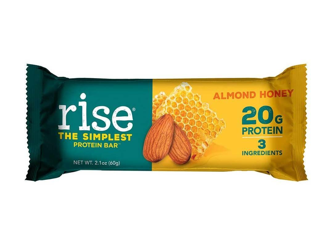 Whey Protein Bar : RISE BAR 20g protein/thanh hộp 720g nhập USA nhập khẩu