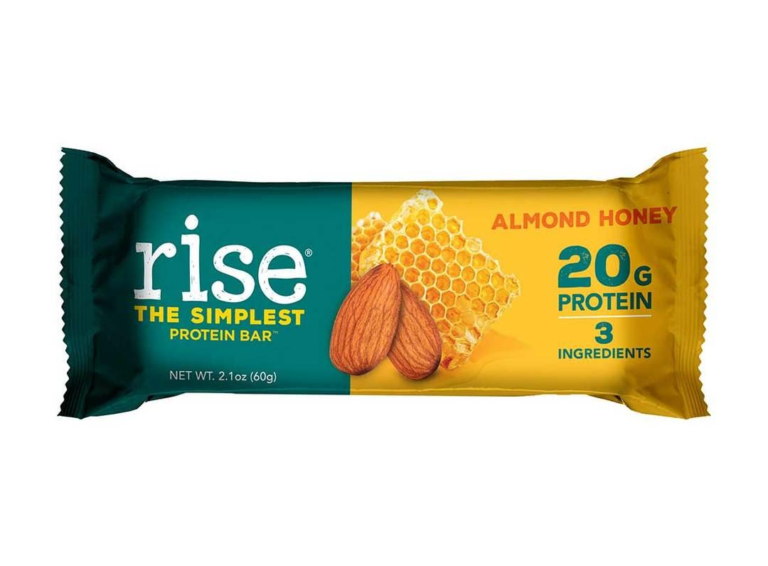 Whey Protein Bar : RISE BAR 20g protein/thanh hộp 720g nhập USA