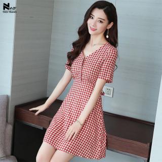 Đầm Caro Form Chữ A - New Thoi Trang thumbnail
