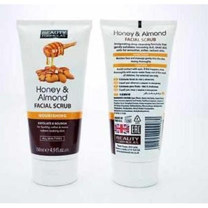 Offer tại Lazada cho Tẩy Tế Bào Chết Beauty Formulas Honey & Almond Facial Scrub 150ml - Pharmacy Bank