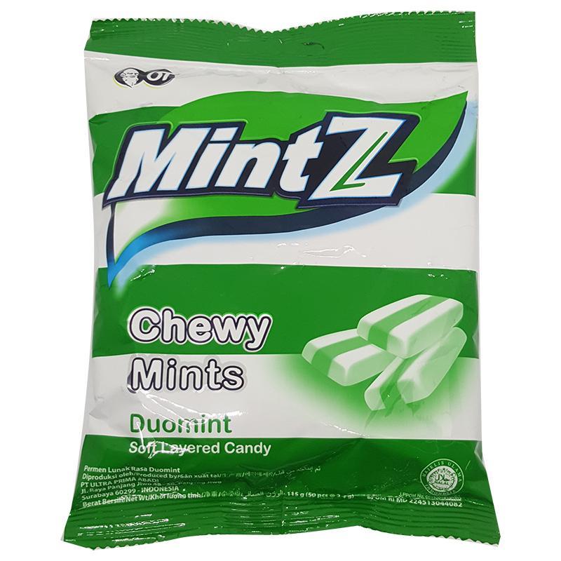 Kẹo Mintz Duomint Chewy Mints gói 115g