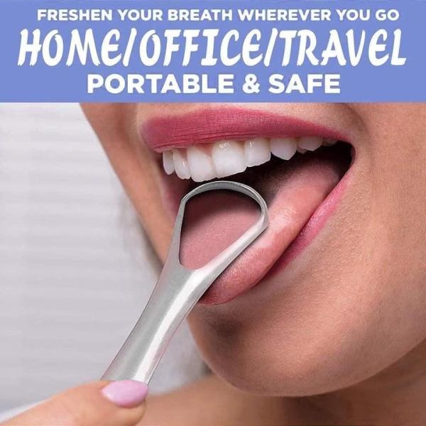 [Sale Sốc] Dụng Cụ Cạo Lưỡi- Vệ Sinh Răng Miệng Cho Mọi Người- Dụng Cụ Vệ Sinh Lưỡi Bền Đẹp