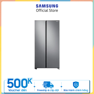 Tủ lạnh Samsung Side by Side 680L (RS62R5001M9)