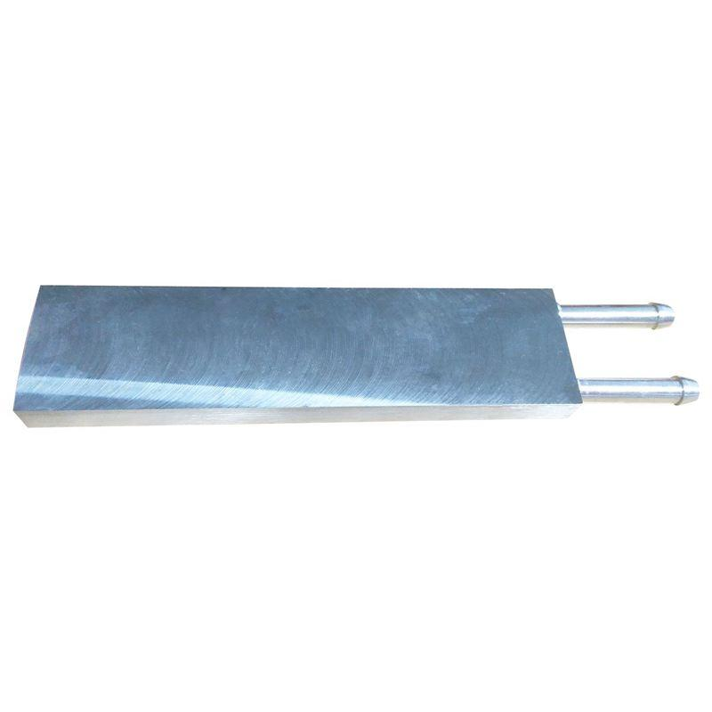 Primary Aluminum alloy Water Cooling Block 40x160mm for Liquid Water Cooler Heat Sink System Silver Use For PC Laptop CPU