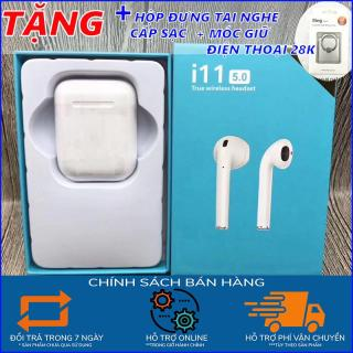 Tai nghe bluetooth I11,Tai nghe Bluetooth không dây,tai nghe,tai nghe gaming cho điện thoại,tai nghe chụp tai,tai nghe không dây,hộp đựng nhét tai, TẶNG HỘP SẠC, CÁP SẠC,TẶNG MÓC GIỮ ĐIỆN THOẠI - ĐỒ DÙNG DI ĐỘNG SG thumbnail