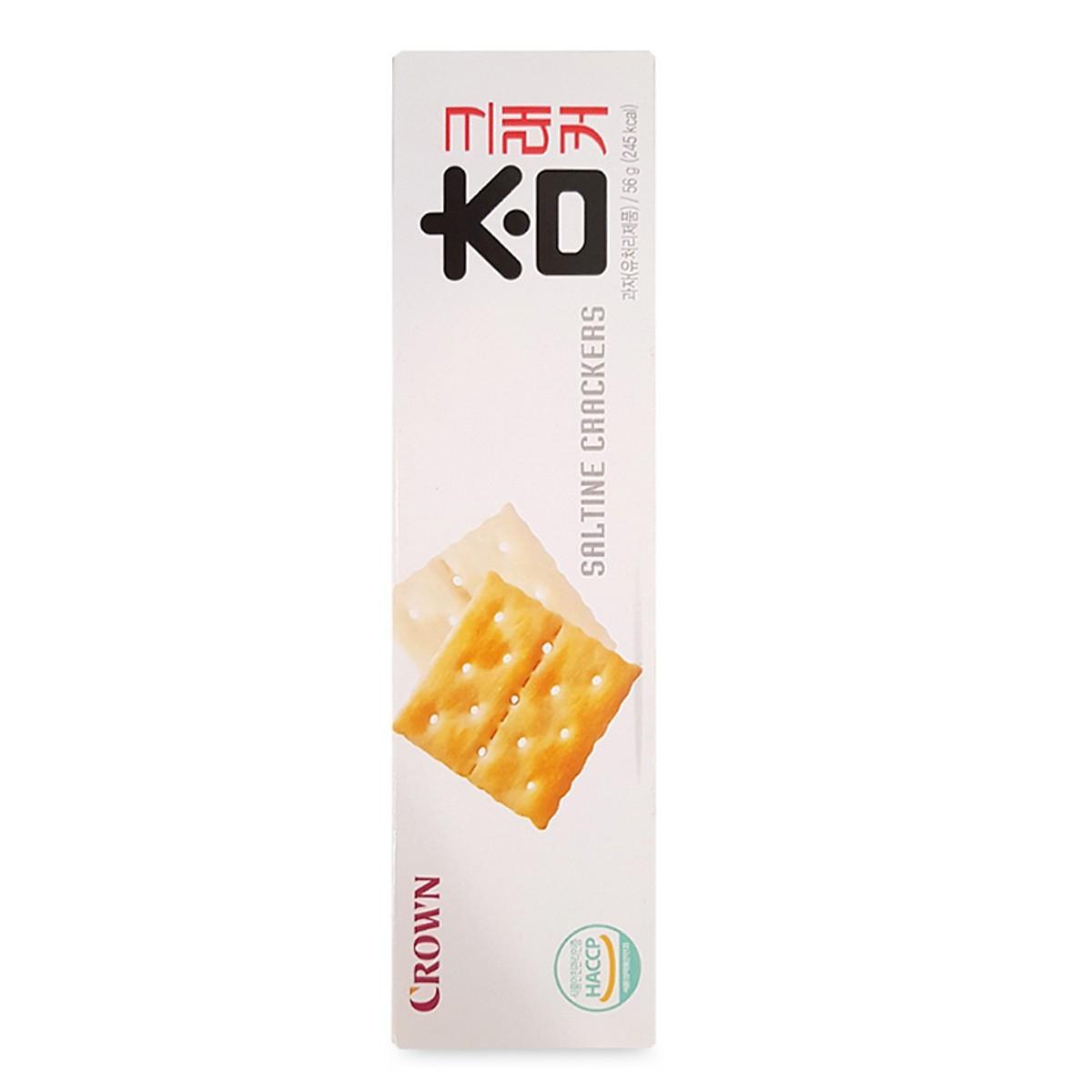 Bánh Quy Giòn Crown Hộp 56 Gram – Nhập Khẩu Hàn Quốc