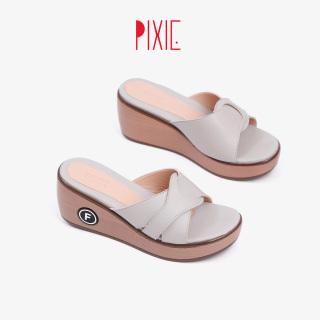Dép Đế Xuồng 7cm Quai Đan Chéo Pixie X696 thumbnail