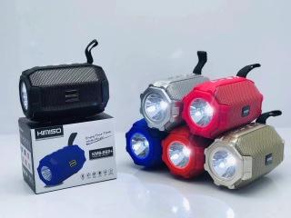 Loa bluetooth kimiso có đèn E92 cao cấp, kèm dây đeo hỗ trợ USB, thẻ nhớ thumbnail