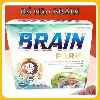 Hoạt Huyết Bổ Não Brain Paris- Hộp 100 Viên thumbnail