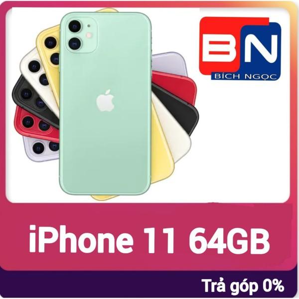 [Trả góp 0%]Điện thoại Apple iPhone 11 bản 64GB - Hàng mới 100% chưa kích hoạt