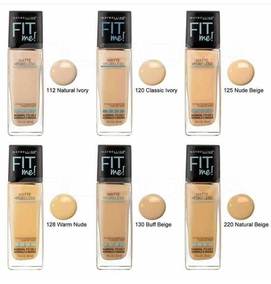 Kem Nền Fit Me Foundation Maybelline New York
