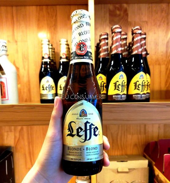 Bia Bỉ leffe vàng nâu - 1 chai 330ml