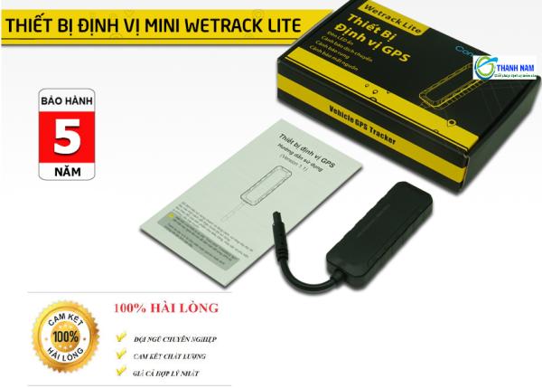 Thiết bị Định vị ô tô, xe máy báo động chống trộm, tìm xe,..Wetrack Lite Mini /tặng sim 4g - Chính hãng / Bảo hành 5 năm