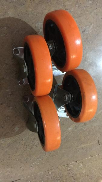 Bộ 4 cái bánh xe đẩy 125x32