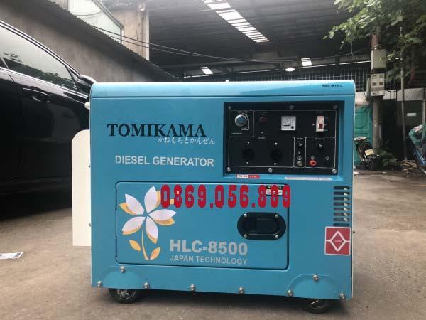 Máy Phát Điện Chạy Dầu Chống Ồn 7.0KVA TOMIKAMA 8500