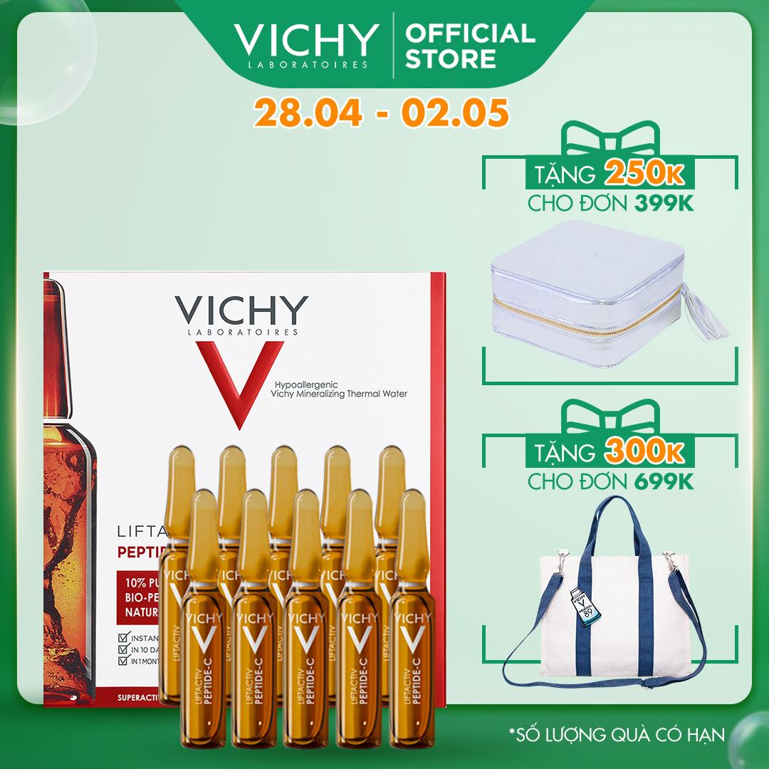 Tinh chất cô đặc giúp phục hồi và chống lão hóa Vichy Liftactiv Specialist Peptide-C Anti Aging Ampoule 1.8ml x...
