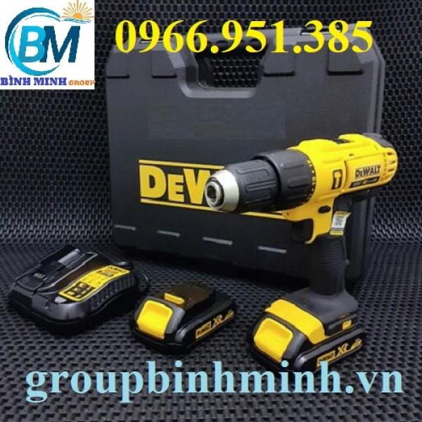 Máy khoan búa dùng pin DeWalt DCD776C2
