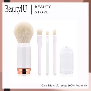 BeautyIU Cọ Trang Điểm Đa Năng Bốn Trong Một Mới Dụng Cụ Làm Đẹp, Đầu Bàn Chải Đôi Có Thể Thu Vào Cọ Trang Điểm Đơn Dụng Cụ Trang Điểm Mặt Ready Stock) thumbnail