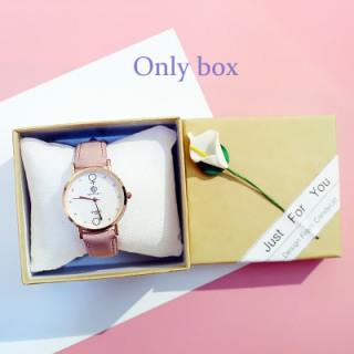 [Hot Sale] FAIRY PINK Watch Box Gift Box Decoration watch Bracelet Box Bracelet Couple Watch Box Birthday Gift 6