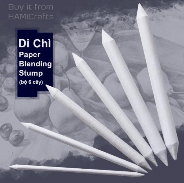 Mua Di Chì - Cây Blend Chì Paper Blending Stump (Bộ 6 Cây)