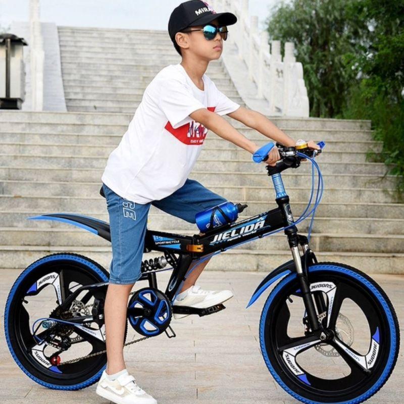 Phân phối Xe đạp gấp 20 inch, khung thép cacbon cao cấp