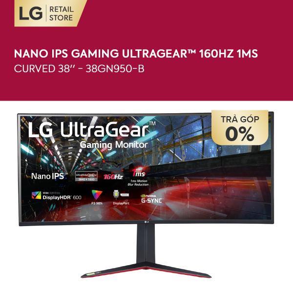 Bảng giá [VOUCHER 1.000K] Màn hình máy tính LG Curved Nano IPS Gaming UltraGear™ (3840x1600) 160Hz 1ms 38 inches l 38GN950-B l HÀNG CHÍNH HÃNG Phong Vũ