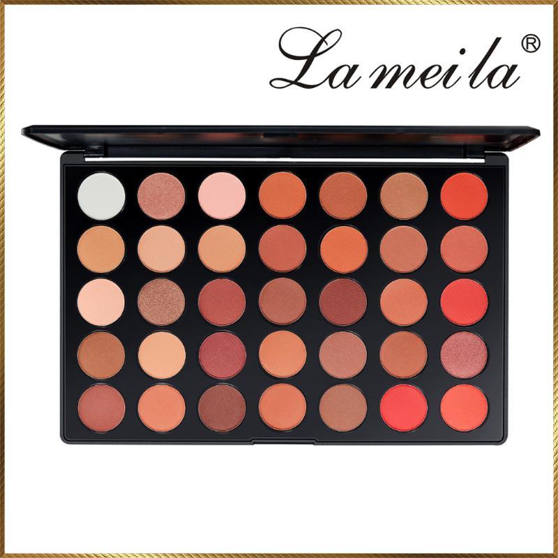 Bảng phấn mắt 35 ô màu Lameila PML62 tốt nhất