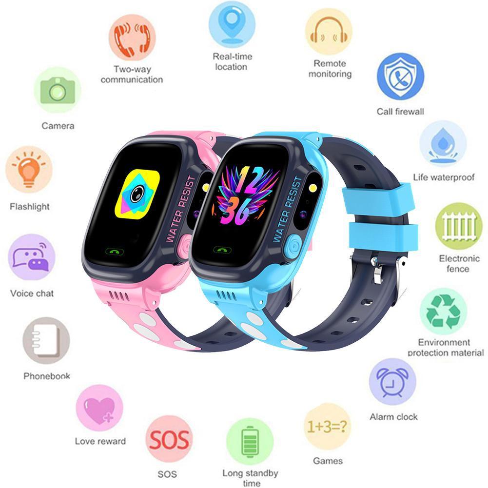 Đồng hồ thông minh định vị trẻ em G.PS Tracker Q528 - Hỗ trợ học toán, Tiếng Anh, Camera.