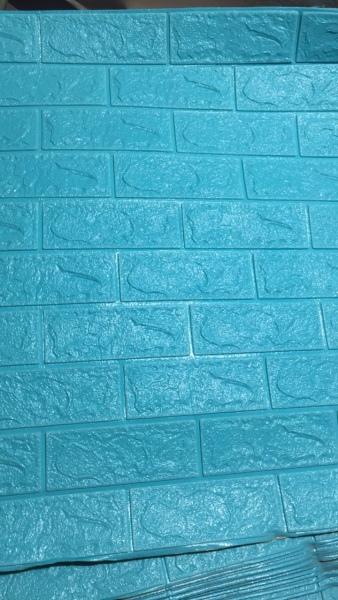 Xốp dán tường 3D Giả gạch - Khổ Lớn 70*77cm loại 1 siêu dính