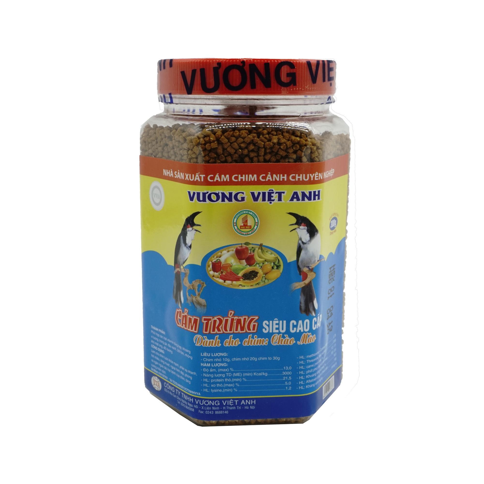 Cám trứng cao cấp dành cho chim chào mào VVA 300g