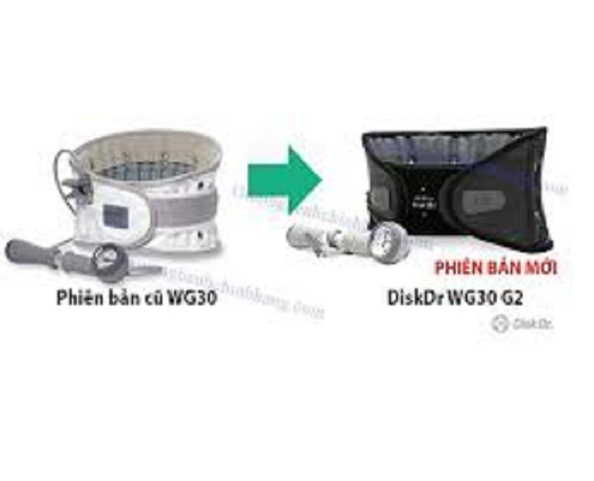 Đai kéo giãn đốt sống lưng Disk DR WG-30