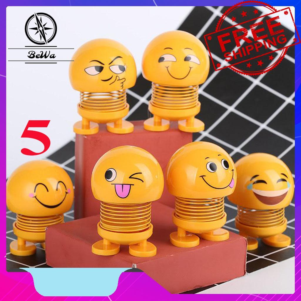 Emoji Lò Xo - Con Lắc Lò Xo - Emoji - Đồ Chơi Văn Phòng - Phụ kiện Ô Tô - Xe Đồ Chơi - Đồ Chơi Siêu Nhân - Đồ Chơi Lego - Đồ Chơi Trẻ Em - Con Lắc Lò Xo - Đồ Chơi Xe Hơi - Đồ Chơi Thông Minh - Đồ Chơi Cho Bé BeWa