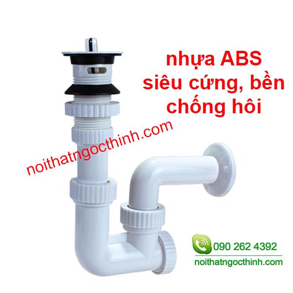 Bộ xả lavabo chậu rửa mặt nhựa abs dày bền cao cấp, được làm bằng nhựa ABS bền bỉ và thân thiện với môi trường, với các ron cao su chắc chắn