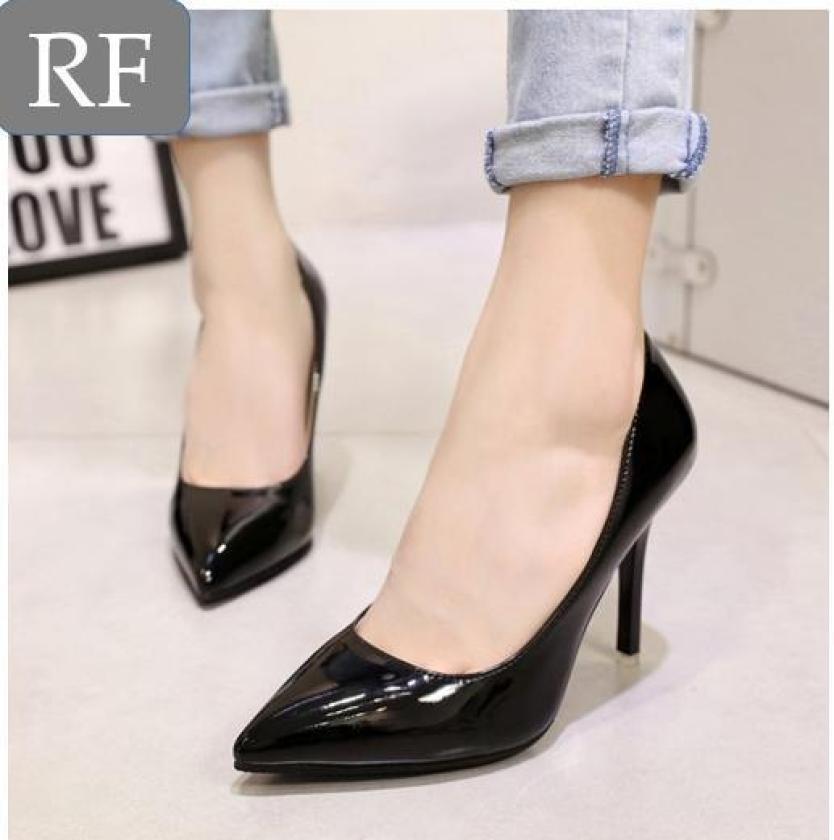 giày cao gót búp bê nhọn gót nhọn 9p Rosa giá rẻ