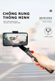 [ SIÊU SALE ] Thiết Bị Chống Rung Khi Quay Phim.Tay Cầm Gimbal Bluetooth Chống Rung 3 Trục Cho Điện Thoại - L08, GẬY CHỐNG RUNG GIMBAL STABILIZER L08 - Selfie Stick Tripod, Selfieshow L08 Gimbal Cầm Tay Ổn Định Hỗ Trợ Quay Video Youtube, thumbnail