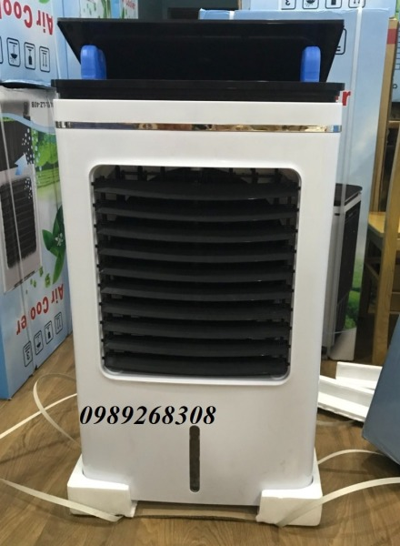 (Điều khiển từ xa động cơ đồng) Quạt điều hòa công suất lớn 200W 40L- Máy làm mát không khí tiết kiệm điện- Bảo hành 1 năm
