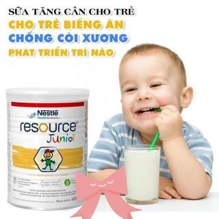 Sữa tăng cân Resouce Junior cho bé 400g sữa dinh dưỡng, sữa béo thumbnail