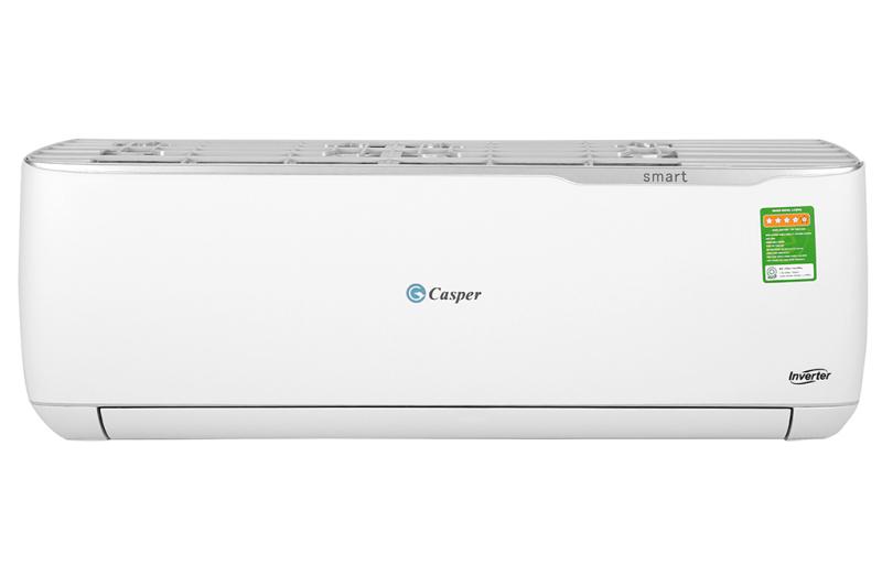 Máy lạnh Casper Inverter 1 HP GC-09TL32 - Công suất làm lạnh 9.000 BTU - Hệ thống lưới lọc đa chiều Airfresh - Công nghệ làm lạnh nhanh Turbo