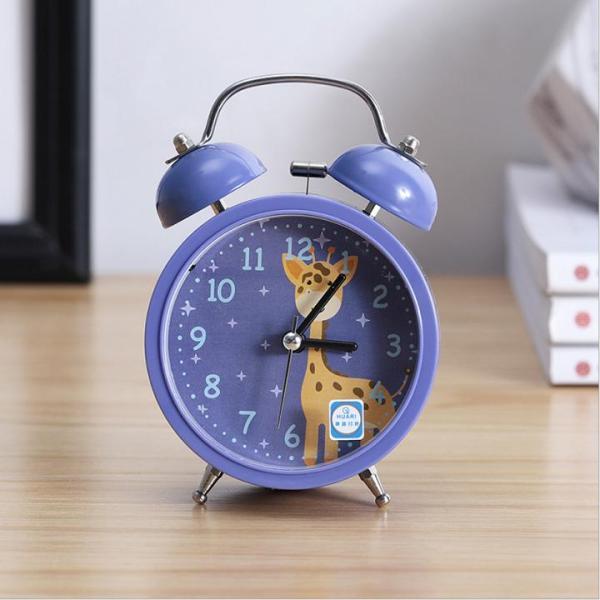 Đồng hồ báo thức CHUÔNG TO, chuông đôi, đồng hồ kim loại phong cách cổ điển sang trọng - DMA store