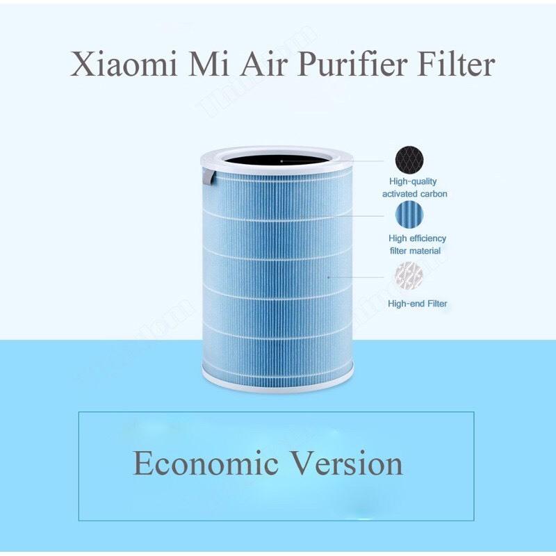 Lõi lọc không khí Xiaomi dành cho Mi Air Purifier 2   2H   2S   3H   Pro khử mùi, diệt khuẩn, lọc siêu bụi mịn - Chính hãng phân phối