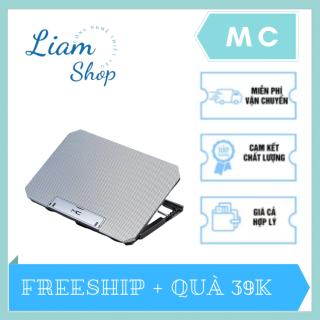 [FREESHIP+QUÀ 39K] Khung nâng hạ tản nhiệt máy tính xách tay MC-Q100 Liam Shop LS07 - Quạt lõi kép 360 độ tản nhiệt nhanh, làm mát thiết bị, không gây ồn mang trải nghiệm chơi game hiệu quả tặng kèm quà 29K thumbnail