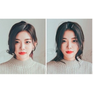 TÓC MÁI MAI Giả Style Hàn Quốc - Tóc mái xoăn bên mai tiểu thư điệu đà - Tóc xoăn lơi 2 bên thumbnail
