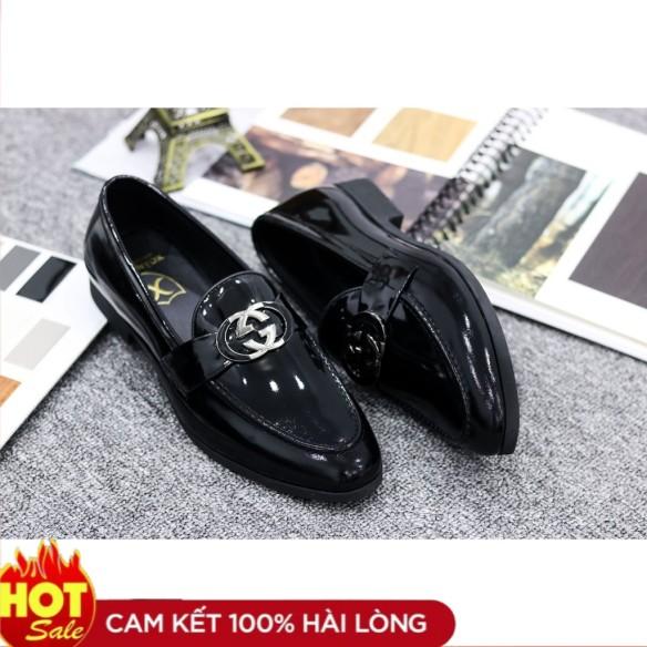 Giày Lười Nam Da pu - Đế Cao Su Đúc 3cm Khâu Chắc Chắn - Mã M020 giá rẻ