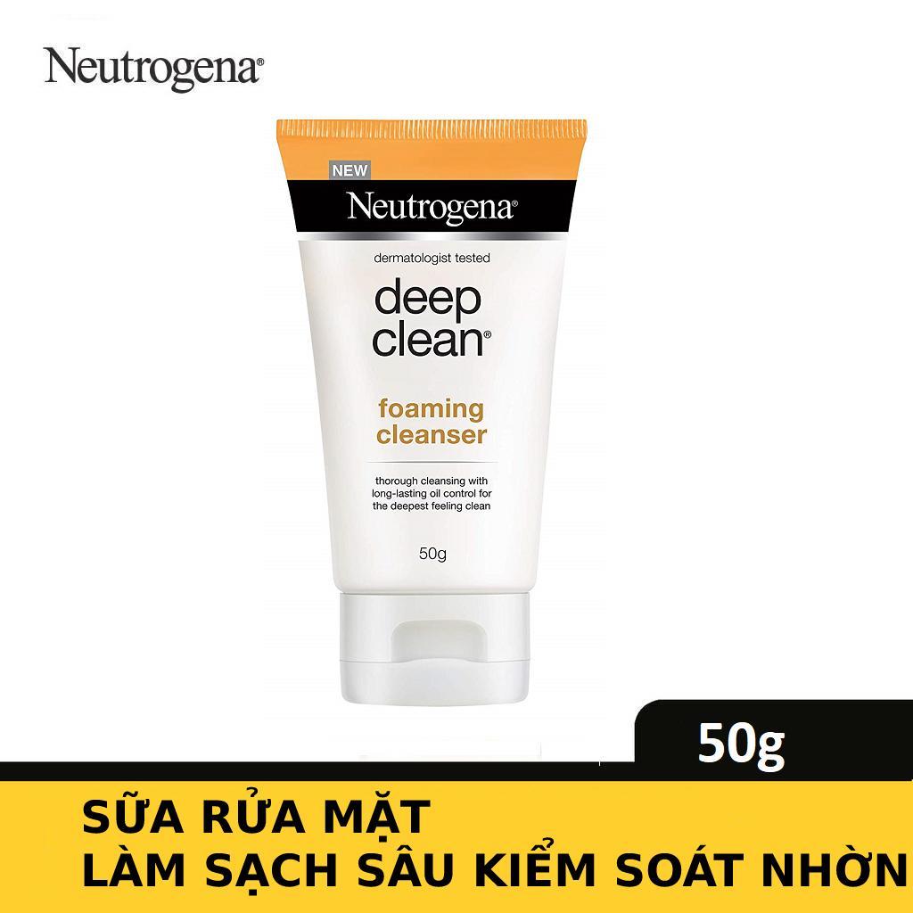 Sữa rửa mặt Neutrogena sạch & kiểm soát nhờn 50g - 101005942 cao cấp