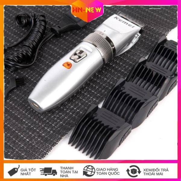 Tông đơ cắt tóc cho trẻ em và gia đình KEMEI KM-27C bảo hành 3 tháng. Tông đơ cắt toc cho be, tông đơ không dây sử dụng 60 phút , Sạc nhanh , Dụng cụ tiện lợi