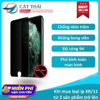 [Miếng dán màn hình] Kính cường lực Cát Thái chống nhìn trộm dành cho Iphone 6 7 8 X 11 6Plus 7Plus 8Plus XS MAX Iphone 11 Pro Max Cát Thái chất lượng cao - GH01 thumbnail
