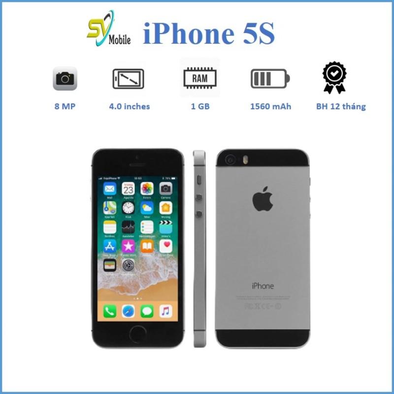 Điện Thoại iPhone 5S- 32GB Quốc Tế Like New. Bảo Hành 12 Tháng Đổi Mới Trong 30 Ngày