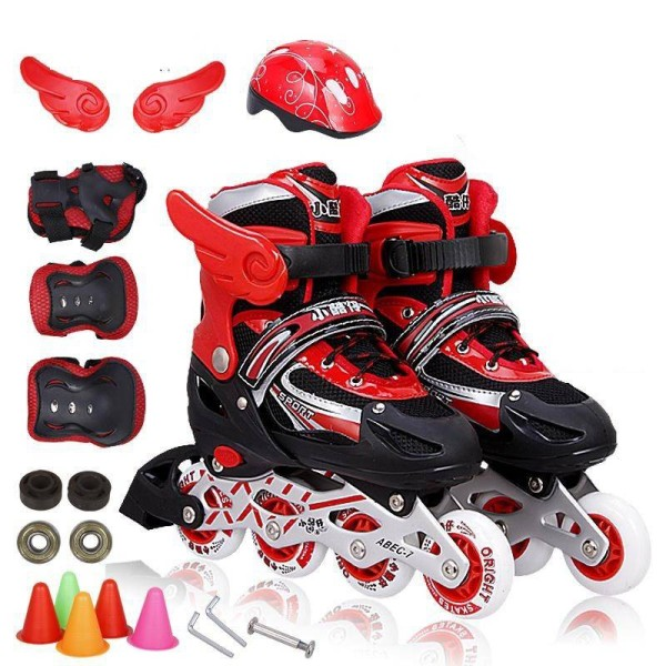 Giá bán Bộ Giày Trượt Patin Cho Trẻ Em 3 6 5 Size 8