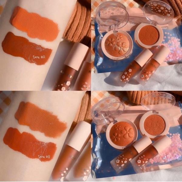 Set 4 sản phẩm sakura Kiss Beauty giá rẻ